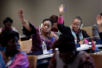 How can we get more women involved in politics across Africa?